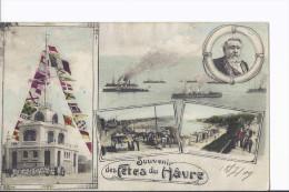 1 Cpa Souvenir Des Fêtes Du Havre - Le Havre