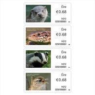 Ireland 2014 - Irish Animals And Marine Life - Phase V Stamp Set Mnh - ATM - Frama (labels)