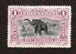 Congo Belge  1894-1900   1 F   Neuf