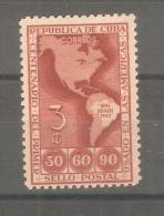 Sello Nº 288 Cuba. - Geografia