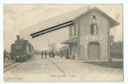 CPA - Missy sur Aisne - La Gare