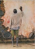 CAMEROUN,CAMEROON,ancienne Colonie Allemande Gérée Par Les Français,prés Nigeria,metier,job,sechage Peau,tanneur - Cameroun