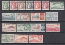 1958 - 60  YVERT  N� 143 / 160   / * /