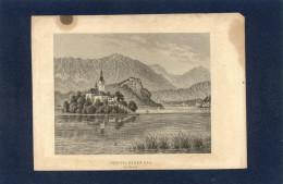 Slovenia-----Bled-----old Graphics - Stiche & Gravuren