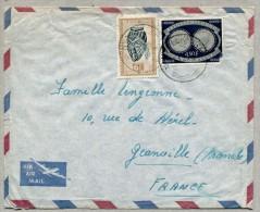 Lettre de NYA-LUKEMBA pour la France 1953