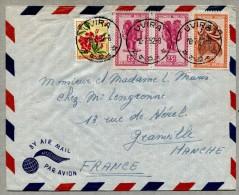 Lettre d�UVIRA pour la France 1952