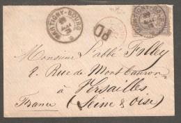 Lettre De MARTIGNY-BOURG Pour VERSAILLES - Briefe U. Dokumente