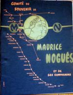 Aviation/MAURICE NOGUEZ/AirFrance/ Bulletin Annuel Du  Comité Du Souvenir 1966 - Aviazione Commerciale