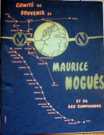 Aviation/MAURICE NOGUEZ/AirFrance/ Bulletin Annuel Du  Comité Du Souvenir 1966 - Aviación Comercial