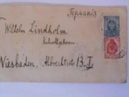 Russie Lettre De 1901 Pour Wiesbaden - 1857-1916 Empire
