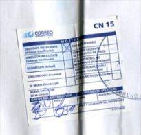 SOBRE-ENVELOPE-ENVELOPPE- CIRCULADO-CIRCULEE-CIRCULATED-ARGENTINA- DEVOLUCIÓN -RETOUR- MATASELLADO-MANY STAMPS!- GECKO. - Argentina