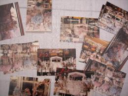 Lot De 14 Photos  Format 10X15  Vitrine Magasin Réglisserie Deleuze à Montpellier - Beroepen
