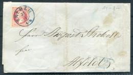 1863 Germany Hannover Bremen 1 Groschen Faltbrief - Alfeld - Hanover