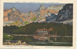 Slovakia 1921. Tatry Mengsdorfske Udolie S Kopkou Z Popradskeho Jazera - Slovakia