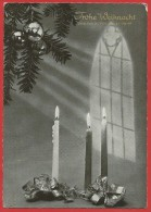 CARTOLINA VG GERMANIA - FROHE WEIHNACHT Und Ein Gutes Neues Jahr - 10 X 15 - ANNULLO TARGHETTA 1963 - Natale