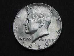 Half  - 1/2 Dollar 1980 D - KENNEDY - Etats-Unis - United States - USA **** EN ACHAT IMMEDIAT **** - Federal Issues