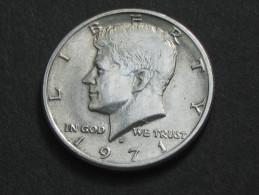 Half  - 1/2 Dollar 1971 D - KENNEDY  - Etats-Unis - United States - USA **** EN ACHAT IMMEDIAT **** - Federal Issues