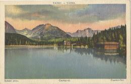 Slovakia 1922. Tatry Strbske Pleso Csorbai To - Slovakia