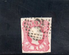 PORTUGAL 1856-8 O - Oblitérés