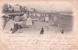 Carte Postale Ancienne Des Sables D´Olonne - La Plage - Vers 1900 - Sables D'Olonne