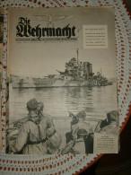 """Zeitschrift """"Die Wehrmacht"""" Vom Oberkommando Der Wehrmacht Berlin Juni 1941 - Revues & Journaux"""