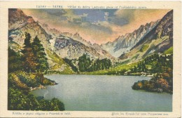 Slovakia 1921. Tatry Popradske Jazero A Stit - Slovakia