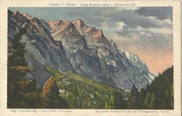Slovakia 1921. Tatry  Velka Studena Dolina A Slavkovsky Stit - Slovakia