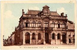 Notre Dame de Liesse 02 Aisne l'hotel de ville �crite
