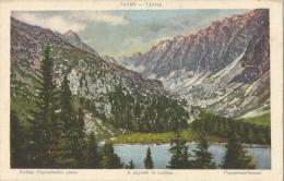 Slovakia 1921. Tatry  Popradske Jazero Kotlina - Slovakia