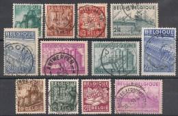 Nrs 761 /772 Belgische Uitvoer Gestp/oblit - Oblitérés