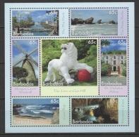 Barbados (2014) - Block -  /  Tourism - Wonders - Beach - Windmill - Docks - Grottes - Caves