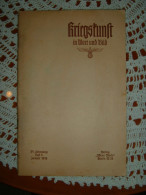 """Propaganda-Zeitschrift """"Kriegskunst In Wort Und Bild"""" Berlin Januar 1939 Mit Innenliegenden Bücherzettel/PK - Revues & Journaux"""