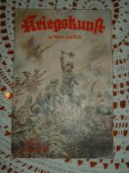 """Propaganda-Zeitschrift """"Kriegskunst In Wort Und Bild"""" Berlin Juli 1938 Mit Innenliegenden Bücherzettel/PK - Revues & Journaux"""