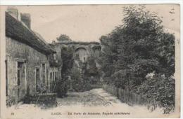 02- LAON - La Porte de Soissons , Fa�ade ext�rieure.  - CPA de 1919 -