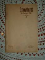 """Propaganda-Zeitschrift """"Kriegskunst In Wort Und Bild"""" Berlin Oktober 1938 - Revues & Journaux"""