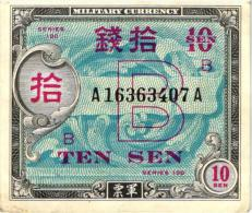Japan 10 Sen Banknote - Japan