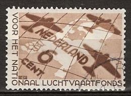 1935 Luchtvaartfonds NVPH 278 Gestempeld/ Cancelled - Oblitérés