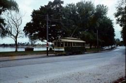Railway Tram Colour Slide Strassenbahn Australia, Ballarat 1969 65 - Treni