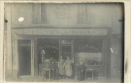 CARTE PHOTO CAFE RESTAURANT  BIRON AU RENDEZ VOUS DES  JARDINIERS  VILLE NON IDENTIFIEE - Cafés