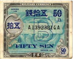 Japan 50 Sen Banknote - Japan