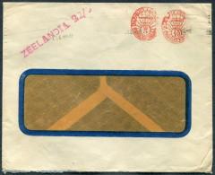 1930s Argentina Franking Machine Cover ZEELANDIA Ship Lloyd Royal Hollandais Line - Lettres & Documents