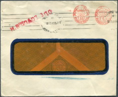 1935 Argentina Franking Machine Cover HIGHLY BRIGADE Ship Royal Mail Lines RMSP - Lettres & Documents