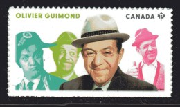 CANADA 2014, 2776  GREAT CANADIAN COMEDIANS: OLIVIER GUIMOND - Carnets