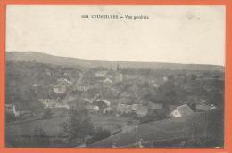 GAG-06 Cruseilles Vue Générale. Cachet Cruseilles 1920 Pour Zürich - Other Municipalities