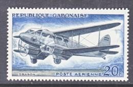 GABON  C 8  *   AERO  BIPLANE - Gabon