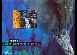 2006 Azores - Hydrotermal Rainbow - Volcanos underwater-  MS - paper - MNH**