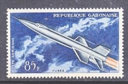 GABON  C 10  *   AERO   FUSEE - Gabon