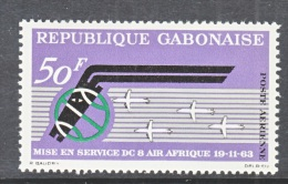 GABON  C 18  *   AERO   AIR  AFRICA - Gabon