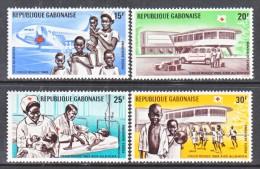 GABON  C 86-9   *   RED  CROSS - Gabon