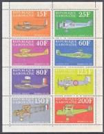 GABON  C 103  A-h.   *   EARLY  AVIATION - Gabon